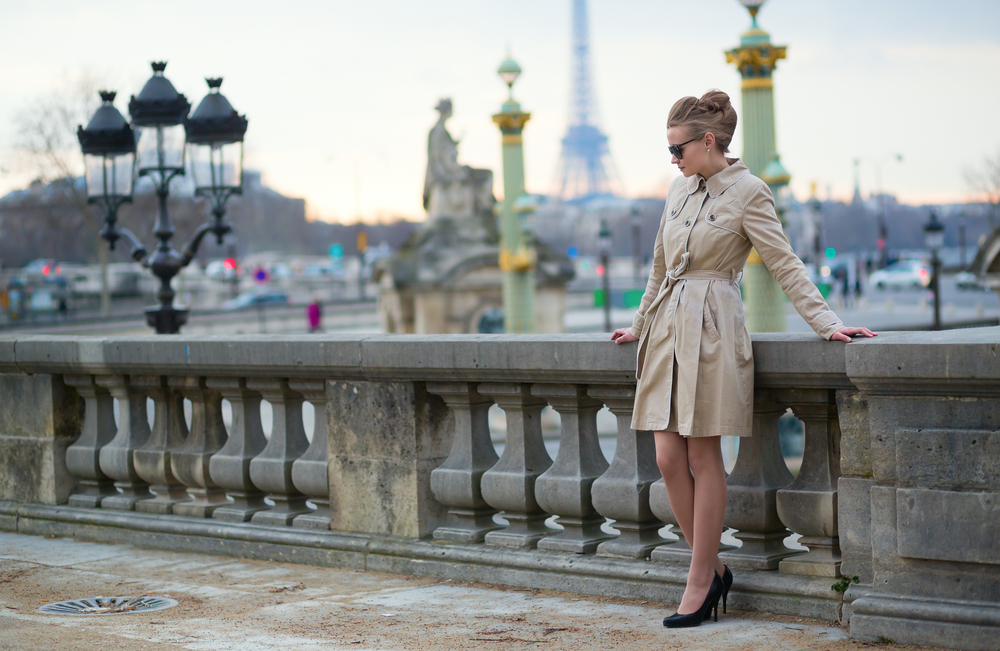 fashionable french woman
