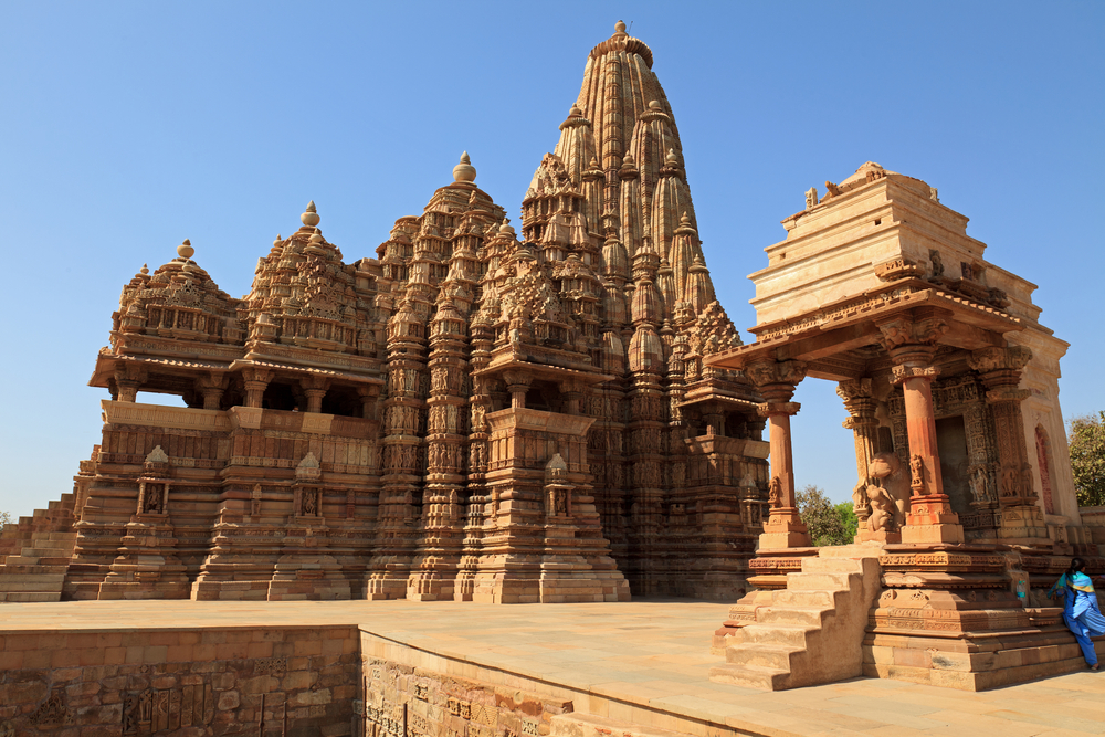 The Kandariya-Mahadev Tempel in India.